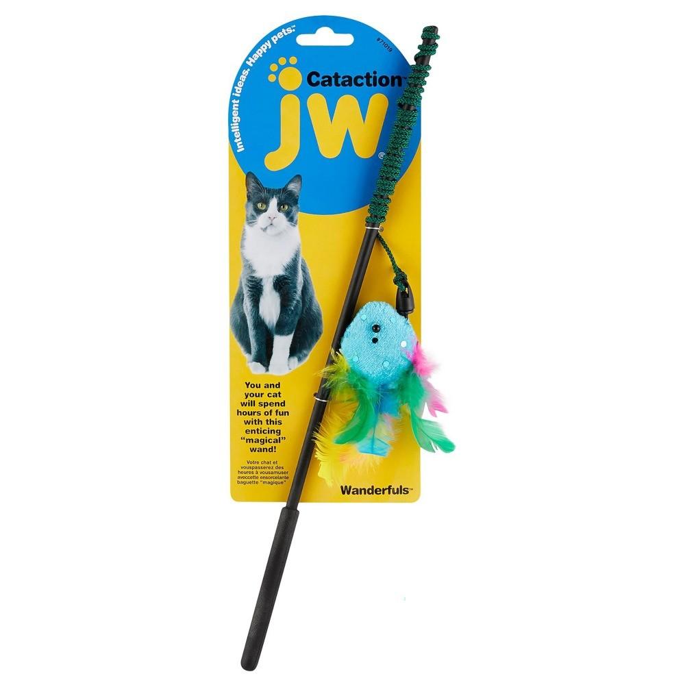 Brinquedo para Gatos JW Varinha Azul JW para Gatos, Azul (Foto: Divulgação)
