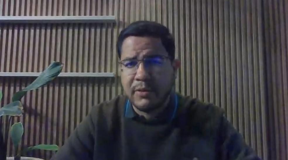Prefeito de Caraguatatuba, Aguilar Júnior — Foto: Facebook/Reprodução