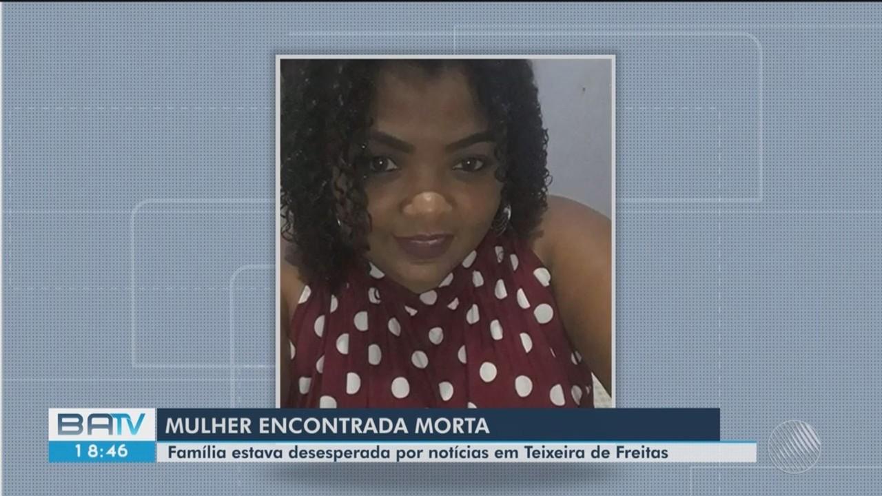 Corpo de jovem que estava desaparecida em Teixeira de Freitas é encontrando em areal