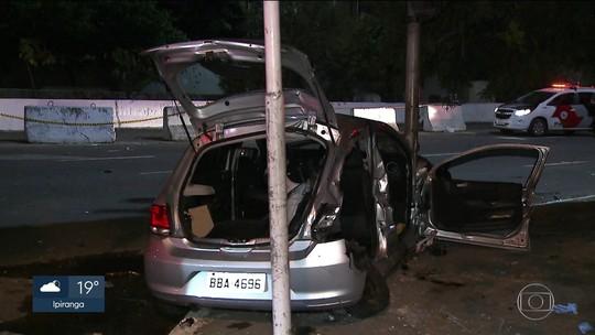 Acidente provoca morte de mulher na Zona Sul de SP, e motorista é preso por suspeita de embriaguez