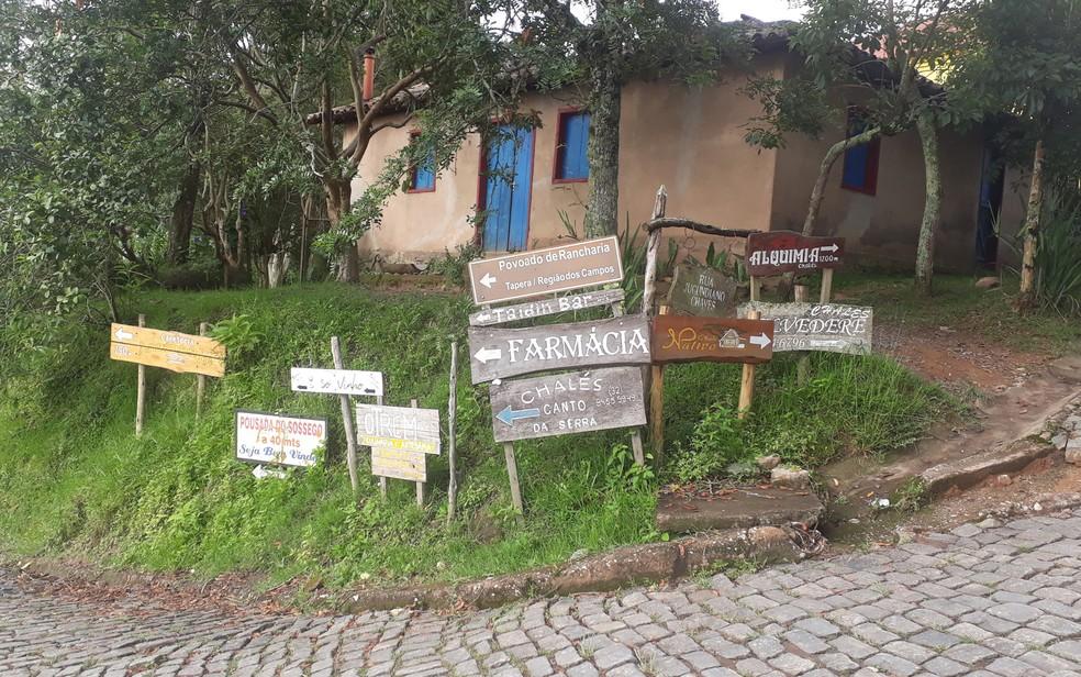 Parque Estadual do Ibitipoca - moradores da vila de Conceição do Ibitipoca sentiram impactos da limitação do turismo no parque — Foto: Vivian Reis/G1