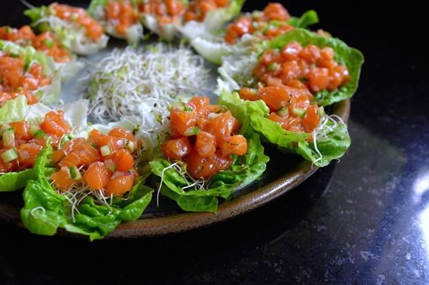 Tartar de salmão (Foto: Andre Lima de Luca)