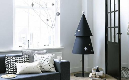 Décor do dia: Natal minimalista e prático