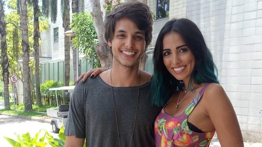Bruno Guedes e Jade Seba falam sobre namoro e ciúmes; veja vídeo