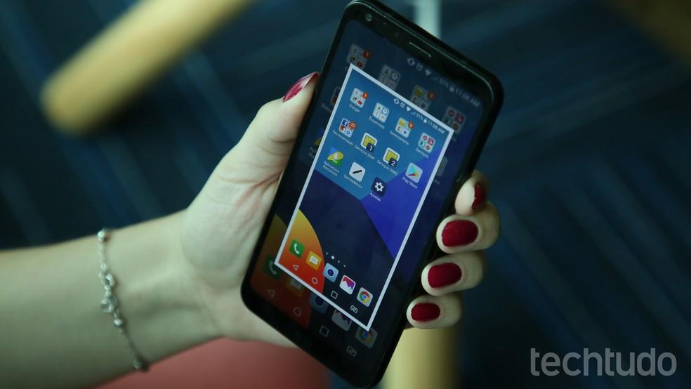 Como tirar print de tela no LG Q6 e LG Q6 Plus | Celular