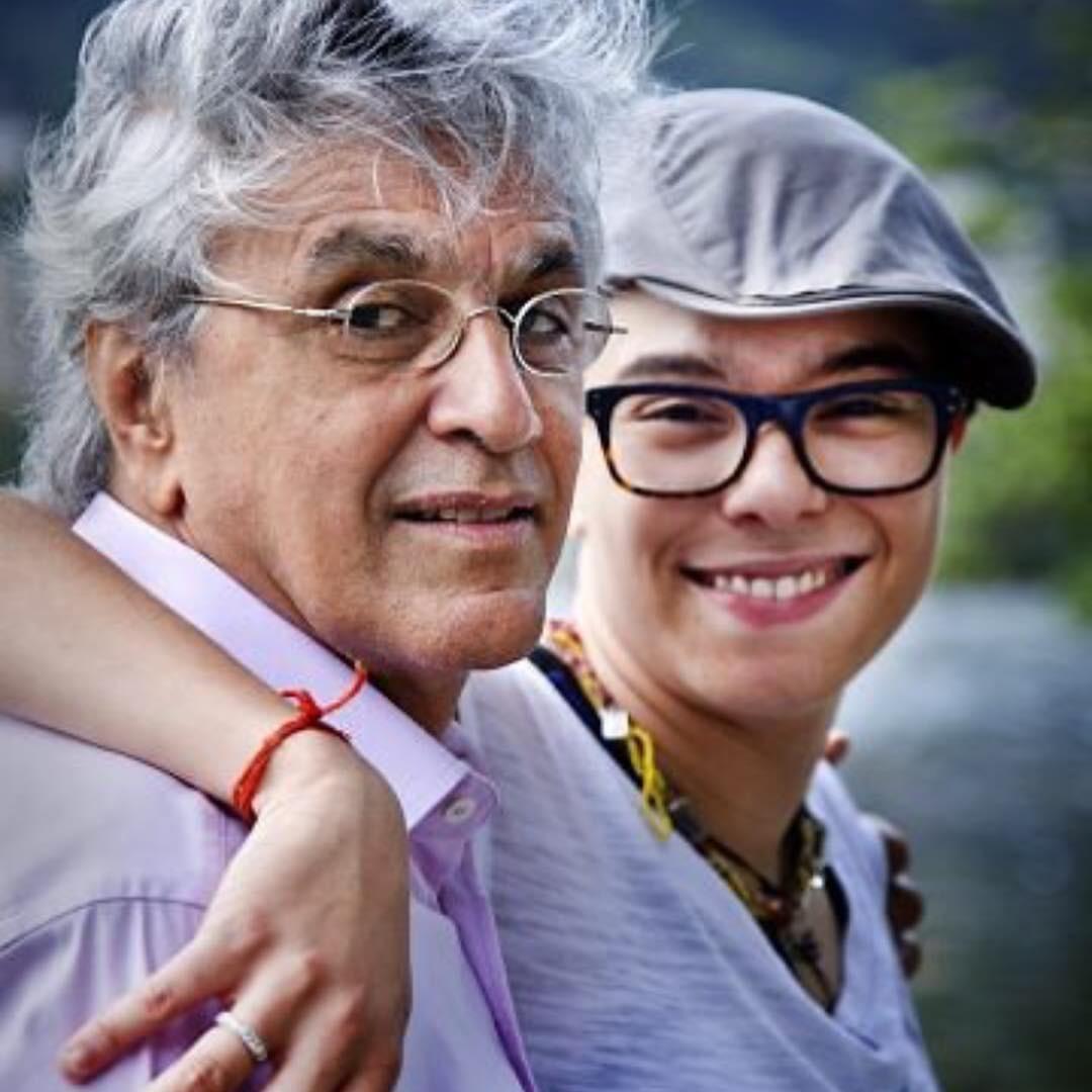 Caetano Veloso e Maria Gadú (Foto: Reprodução / Instagram)