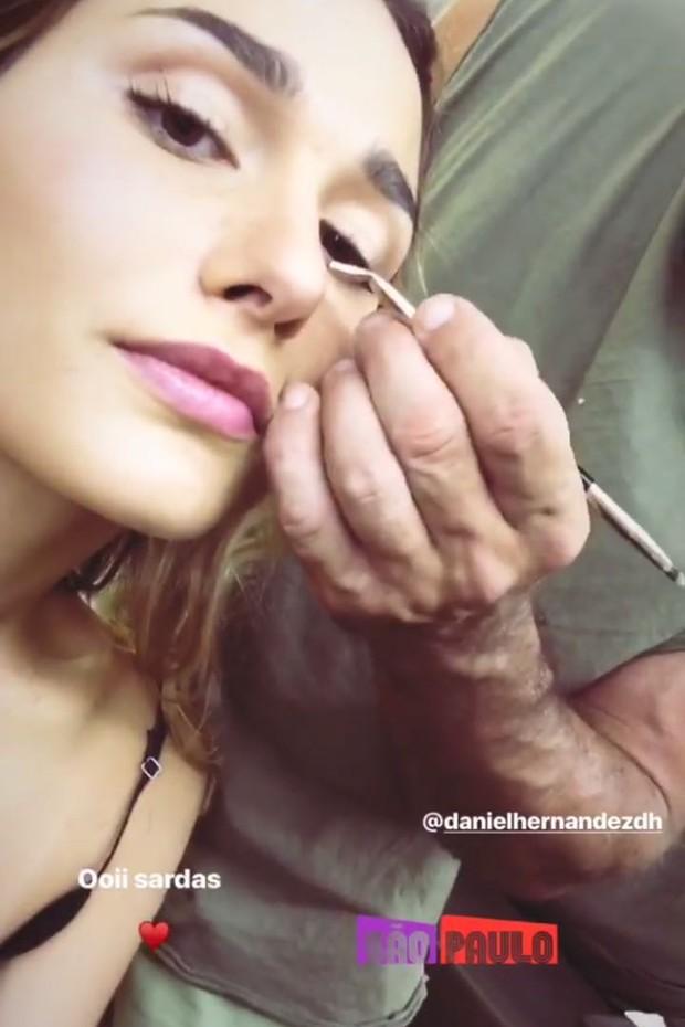 Sasha Meneghel aposta em novo visual com sardinhas (Foto: Reprodução/Instagram)
