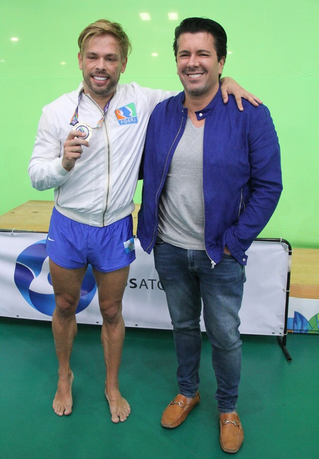 Bruno Chateaubriand e André Ramos (Foto: Wallace Barbosa/Agnews)