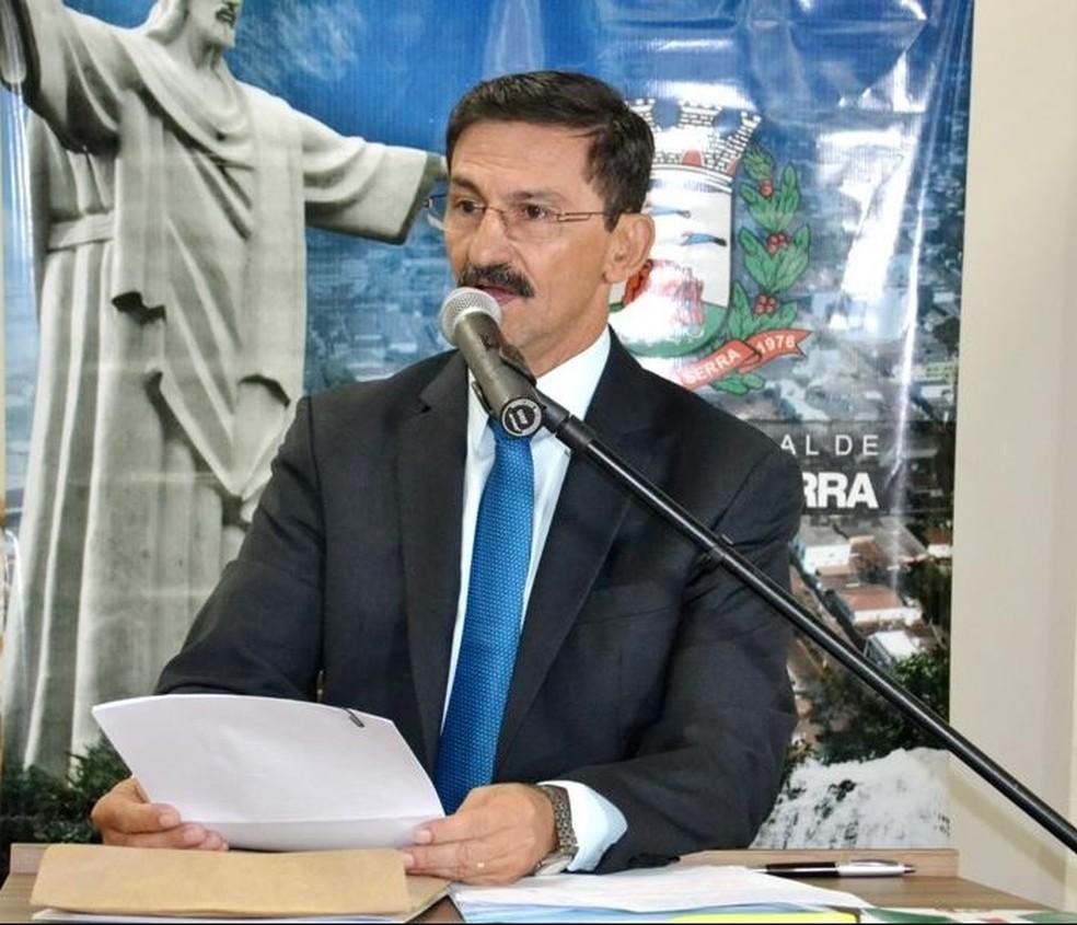 Prefeito de Tangará da Serra, Fábio Junqueira passou três dias internado — Foto: Prefeitura de Tangará da Serra-MT/ Assessoria