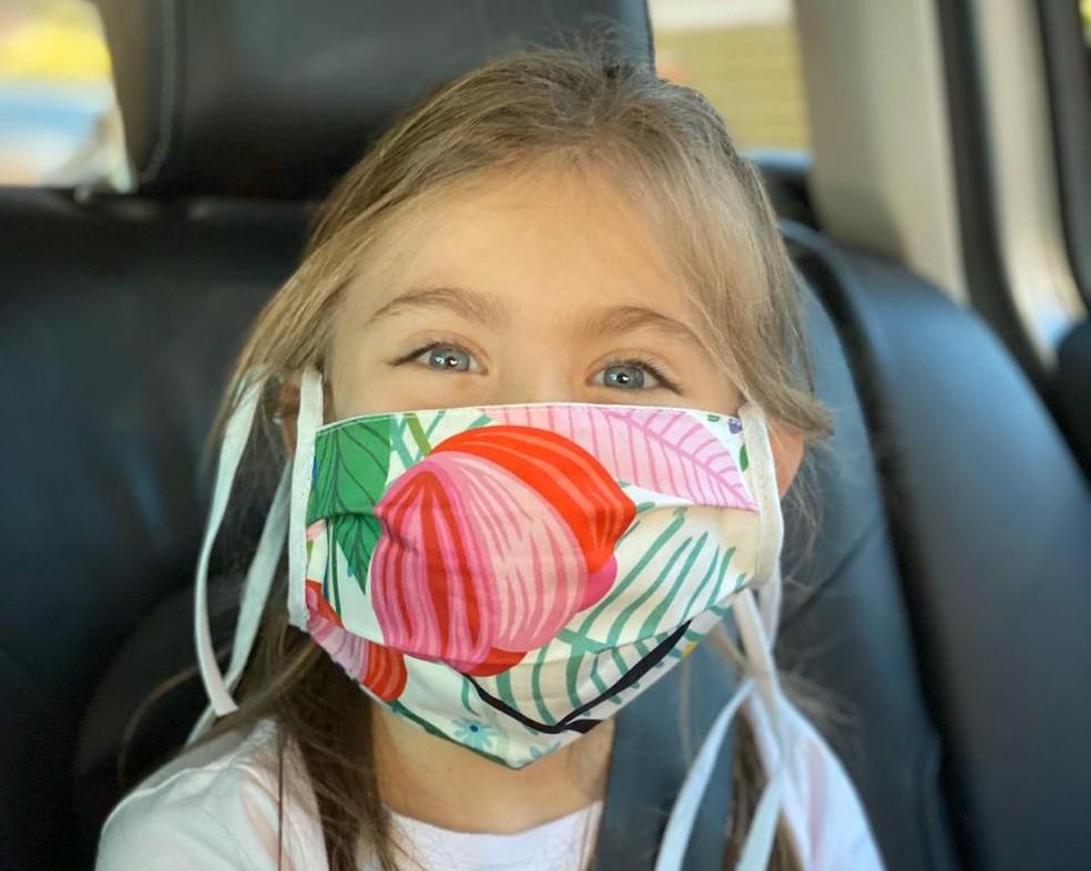 Máscaras da Mooui servem em crianças a partir de 4 anos — Foto: Divulgação/Mooui
