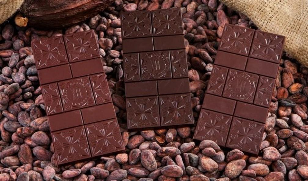 Chocolate ao leite é o que faz mais sucesso entre os brasileiros e o amargo é considerado mais saudável. — Foto: Divulgação