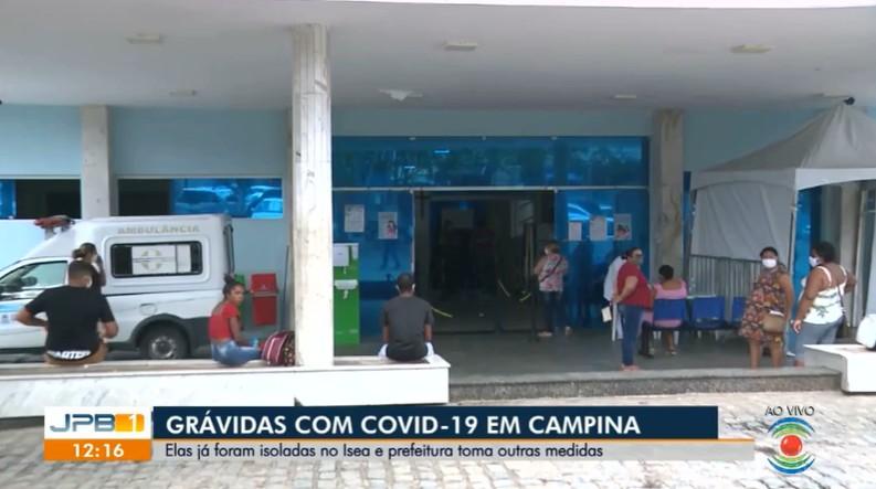 Quatro grávidas testam positivo para Covid-19 em maternidade de Campina Grande