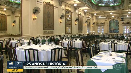 Confeitaria Colombo completa 125 anos de fundação