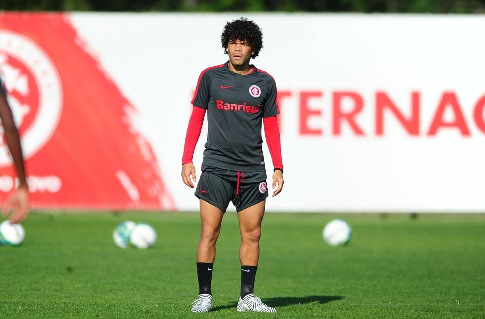 Camilo será a referência do Inter nesta quarta-feira (Foto: Ricardo Duarte/Divulgação Internacional)