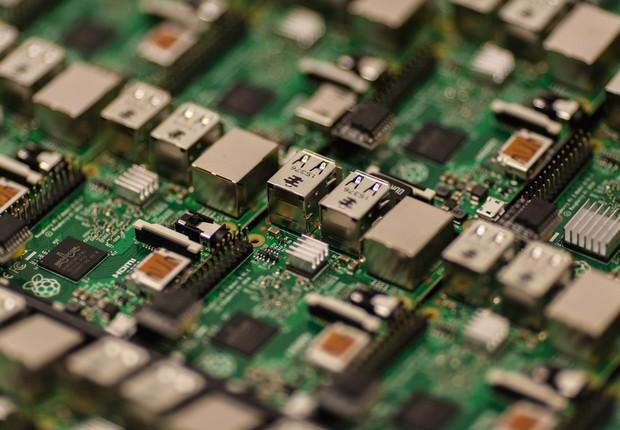 Chip de computador (Foto: Pexels)