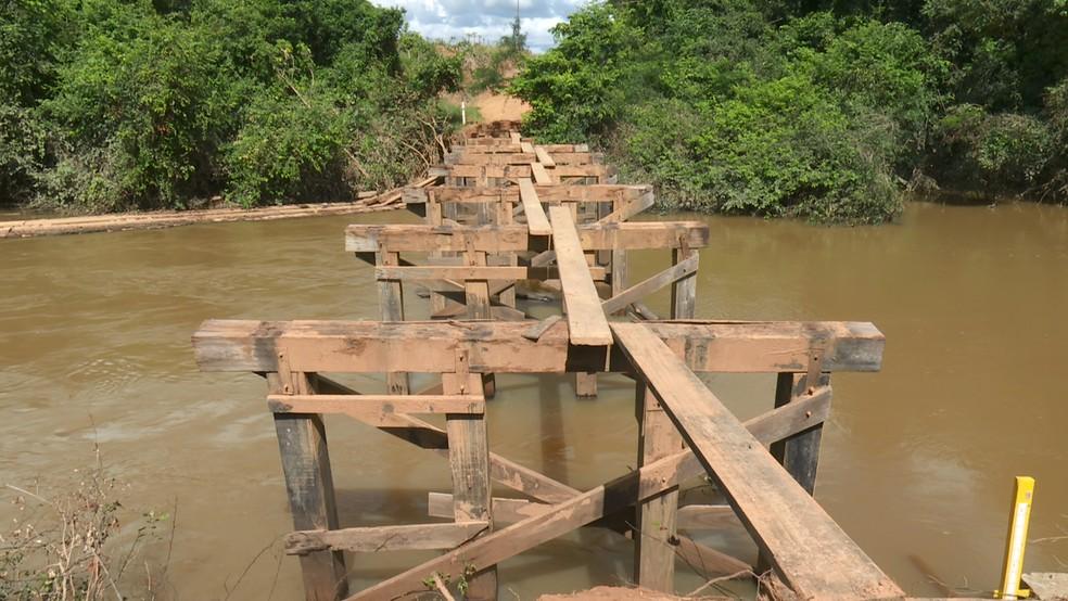 No dia 21 de fevereiro, Rede Amazônica esteve no local e mostrou o problema enfrentado pelos moradores rurais — Foto: Rede Amazônica/Reprodução