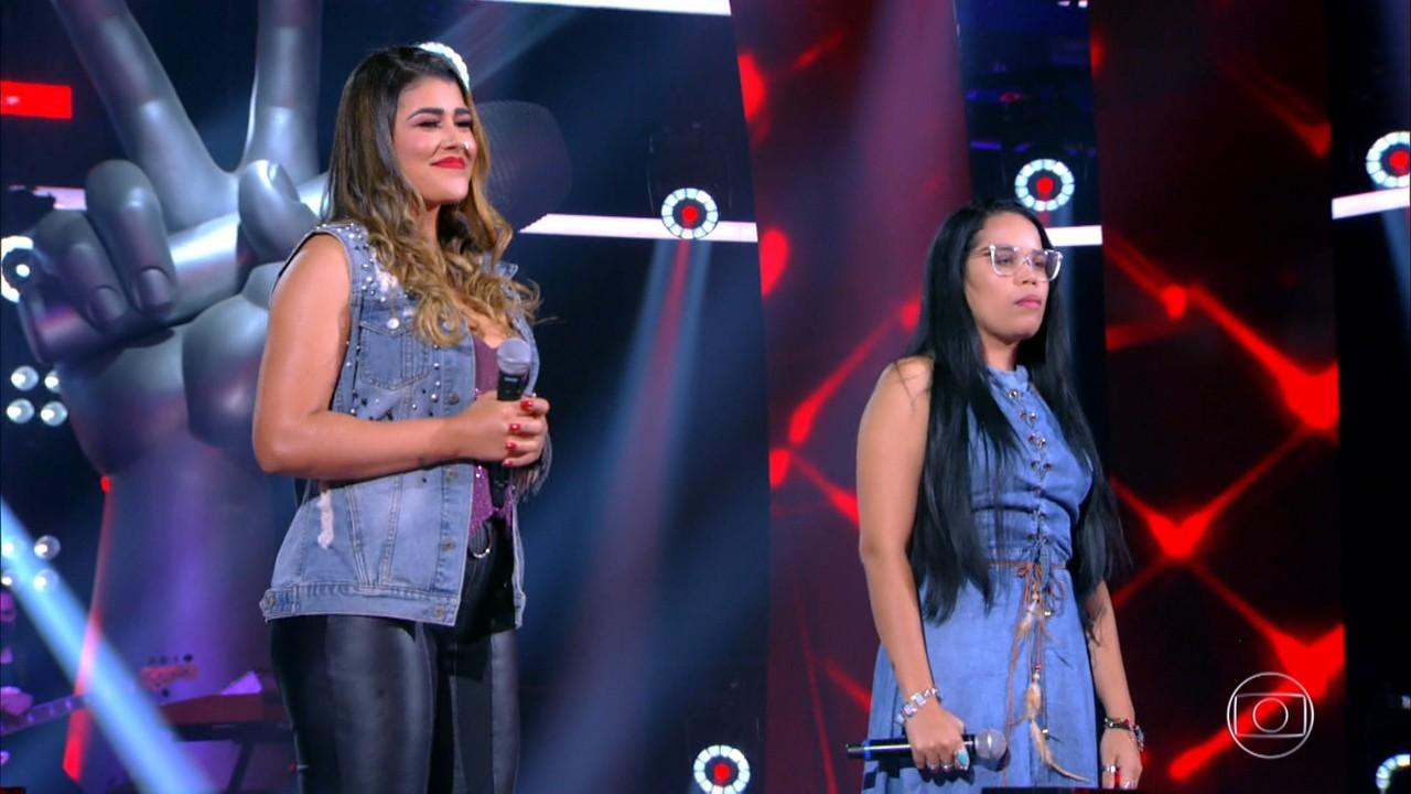 Resultado da batalha entre Nanara Bello e Thalita Maciente