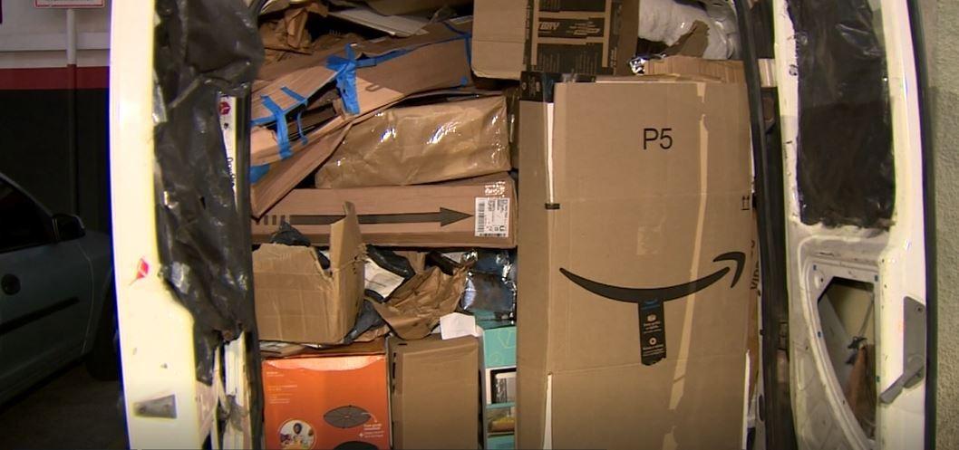 Quadrilha rende motorista e rouba carga de produtos para entrega em Campinas