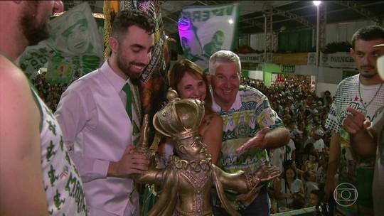 Mancha Verde conquista o Carnaval de São Paulo