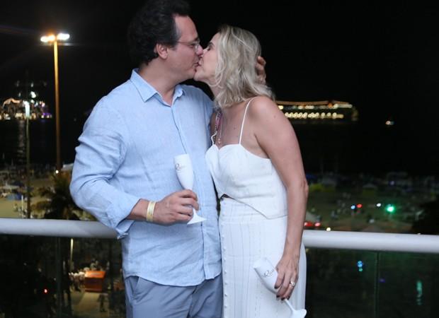 Danton Mello e Sheila Ramos (Foto: Anderson Borde/AgNews)