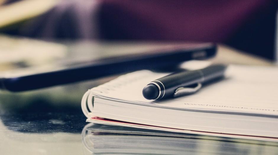 Documentos; caderno; planejamento (Foto: Pexels)