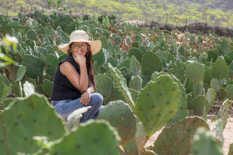 """""""A agroecologia, sem dúvida, é uma forma de empoderamento feminino"""", afirma Rita Ambrósio de Melo (Foto: Jarbas Oliveira)"""