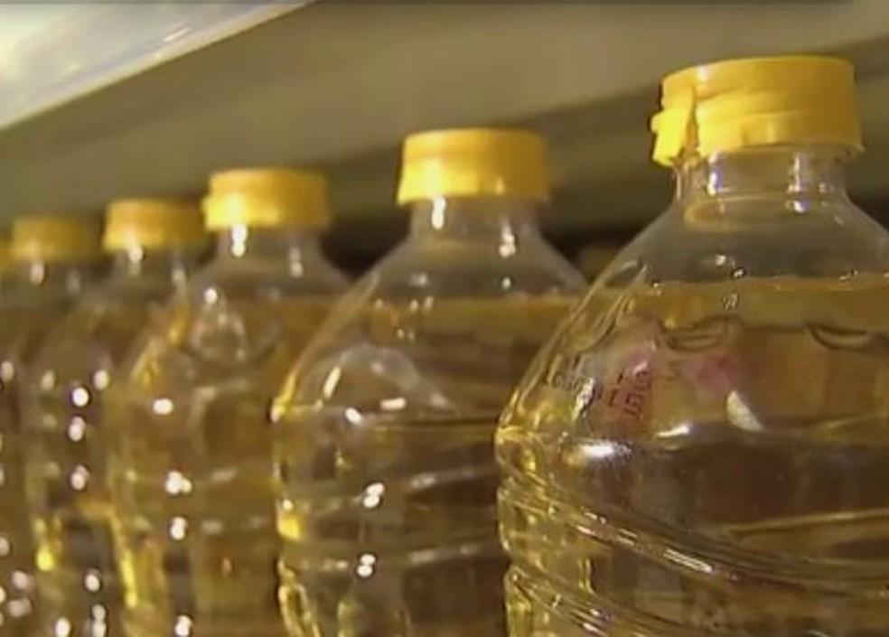 Resíduos como óleo de cozinha usado e sebo de animais será transformado em biodiesel — Foto: Reprodução/TV Morena