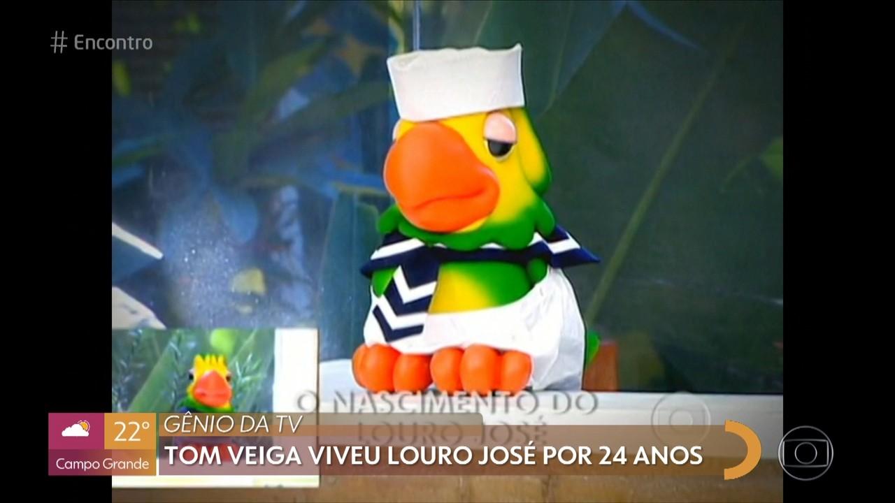 Tom Veiga viveu Louro José por 24 anos