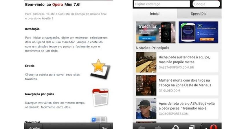 Conheça o Opera Mini e aprenda a usar as ferramentas do navegador