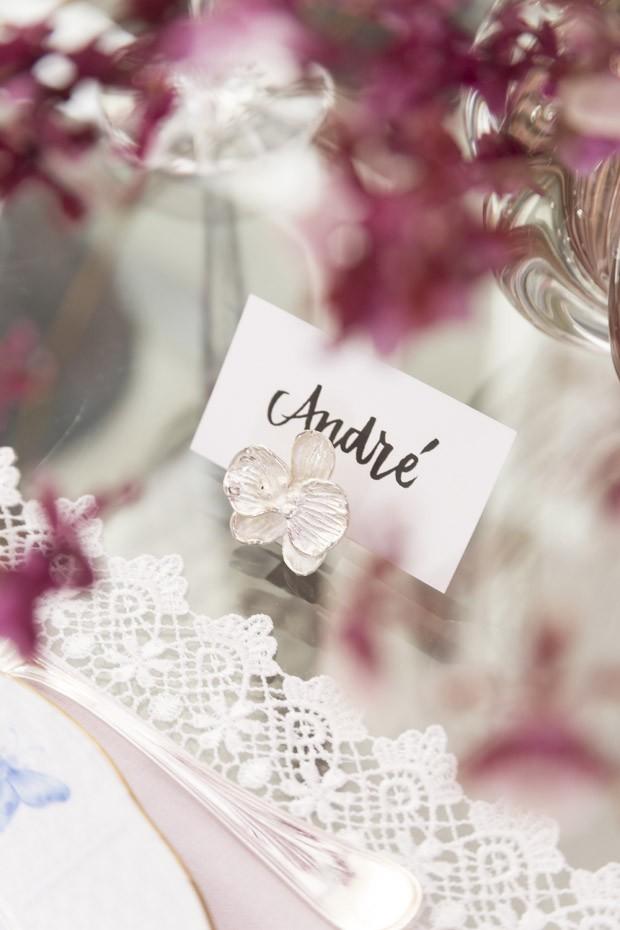 Decoração de mesa para o Dia das Mães em tons de rosa (Foto: Douglas Daniel )