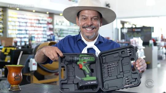 'Galpão Crioulo' apresenta ofertas de ferramentas para quem precisa fazer reparos em casa