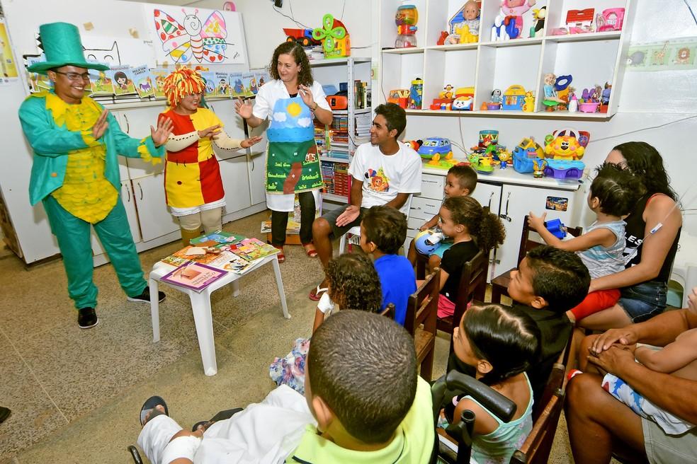-  Semana do Livro Infantil em São Luís terá contação de histórias  Foto: Maurício Alexandre