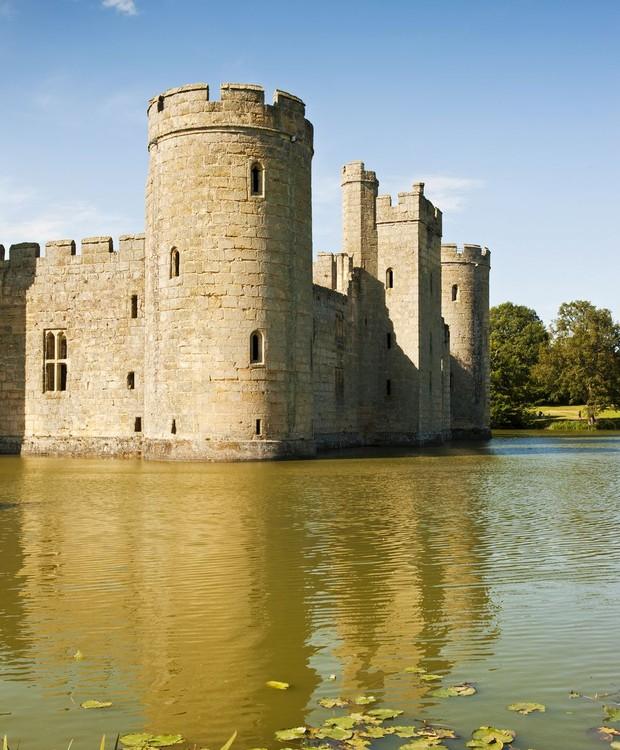 O castelo faz parte da história da Guerra dos 100 anos (Foto: Getty Images/ Reprodução)