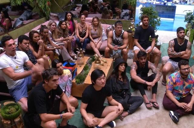 Participantes na primeira semana do 'BBB' 20 (Foto: Reprodução)