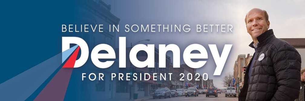 O pré-candidato democrata John Delaney. — Foto: Divulgação de campanha/Twitter
