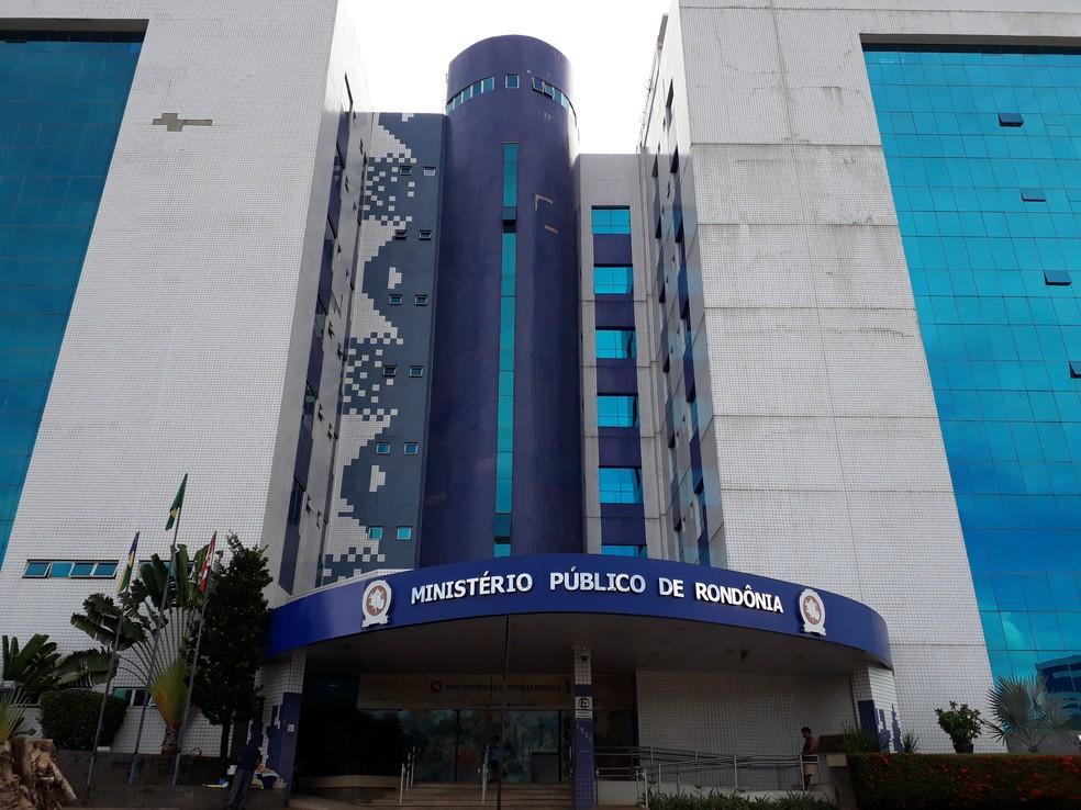 Sede do Ministério Público de Rondônia.  — Foto: Pedro Bentes/ G1