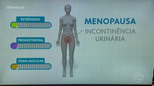 Queda hormonal na menopausa pode levar ao escape de xixi