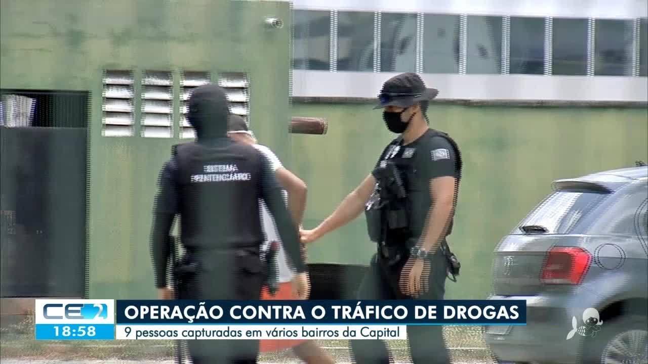Doze pessoas são presas em operação na periferia de Fortaleza