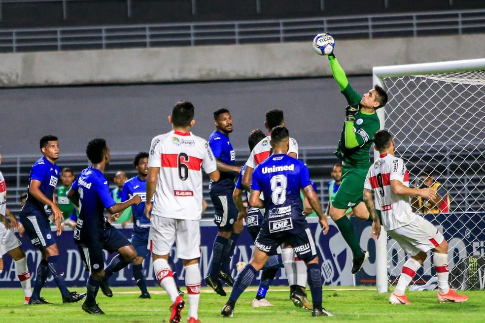 São Bento tem 86% de risco de rebaixamento — Foto: Ailton Cruz/Gazeta de Alagoas