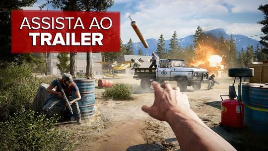 'Far Cry 5' promete reflexão sobre fanatismo, mas entrega ação caótica de sempre; G1 jogou