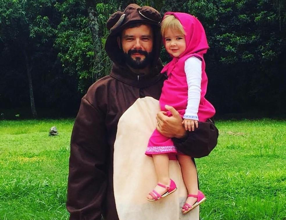 Pai e filha de