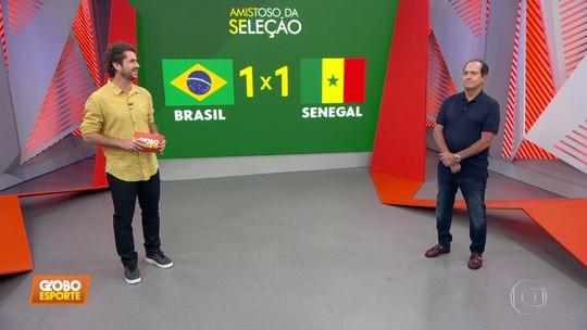 Seleção fica no empate em amistoso contra Senegal