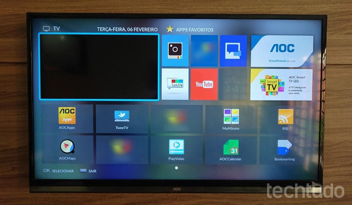 Como Atualizar O Firmware Da Smart Tv Aoc Via Pen Drive Tvs Techtudo