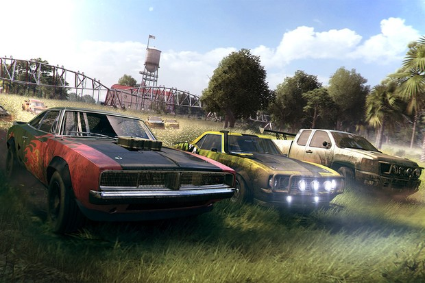Far Cry 5 une carros como Dodge Charger, Chevrolet Camro e picapes do naipe da Nissan Titan (Foto: Divulgação)