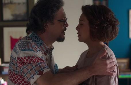 No sábado (26)Mario avisará a Nana que fará um teste de DNA para confirmar a paternidade do filho que ela espera TV Globo