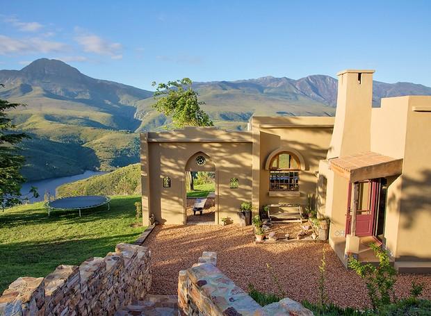 O retiro sul africano traz a conexão perfeita com a natureza (Foto: Ashaka Retreat/ Reprodução)