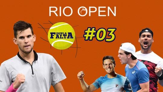 Dupla Falta #3: no aquecimento para o Rio Open, Thiago Wild revela o que o tira do sério