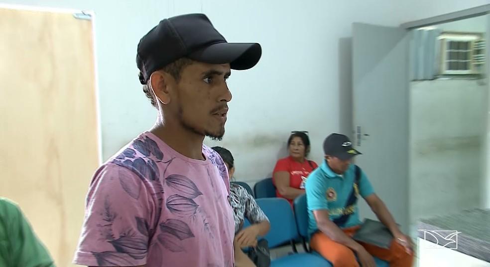 O pai do bebê, Joel Cabral, chegou a ser preso, mas foi solto por falta de provas. Ele nega qualquer participação no crime. — Foto: Reprodução/TV Mirante