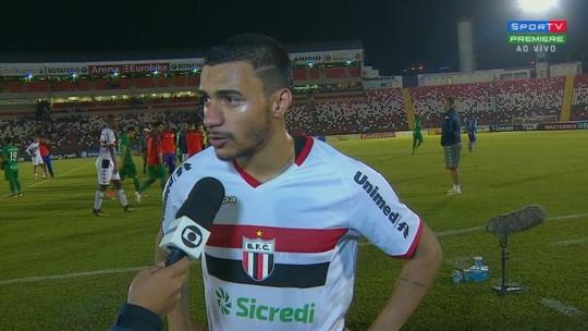 Murilo Henrique reprova empate do Botafogo em casa e critica árbitro