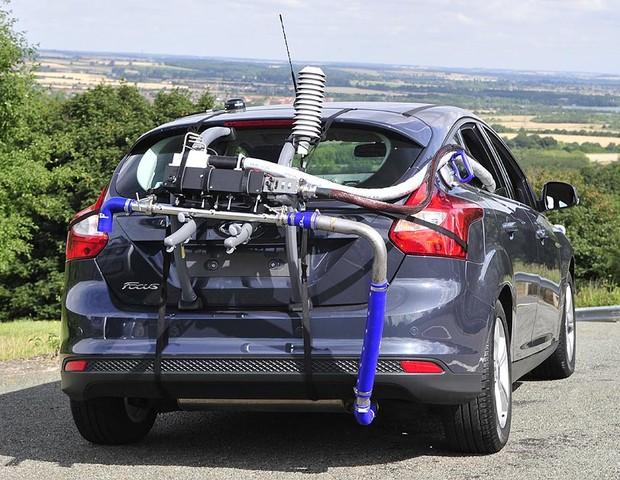 Portable Emissions Measurement System - PEMS (Foto: Reprodução / SAE International)